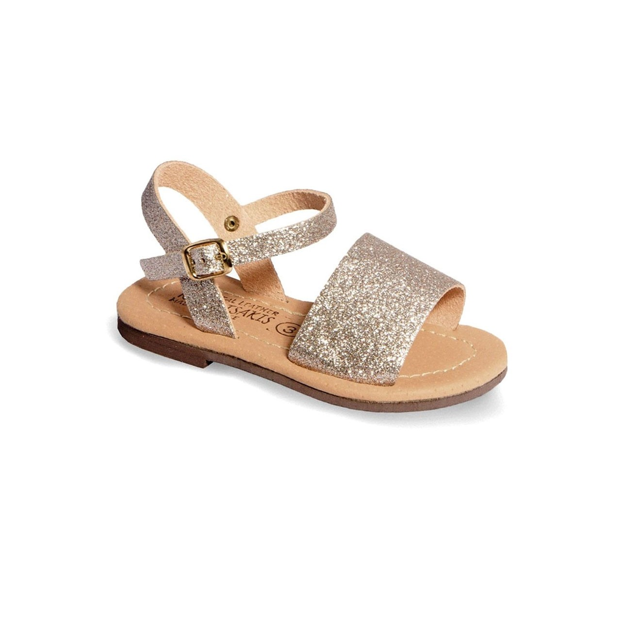 Children Leather Sandals Klimatsakis 254