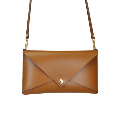 Leather Clutch cod.99249 New Message