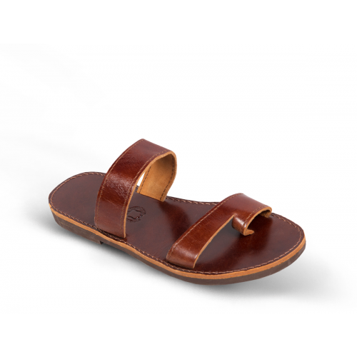 d3cda4416b9 Men Leather Sandals Kouros 68 - SANDALS - MAN