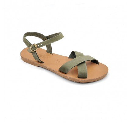 Women Leather Sandals Tsakiris 1021