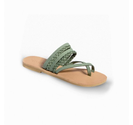 Women Leather Sandals Tsakiris 1025