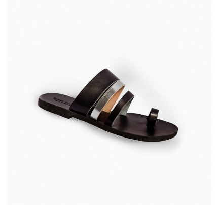 Women Leather Sandals Tsakiris 1035