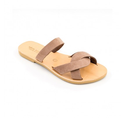 Women Leather Sandals Tsakiris 1041