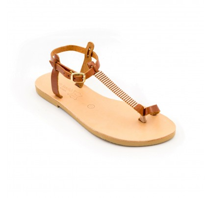 Women Leather Sandals Tsakiris 1052