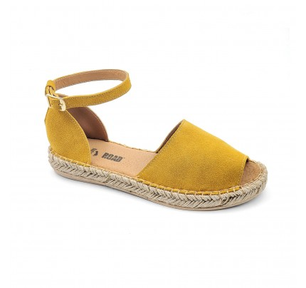 Women Leather Espadrilles 8201 On The Road