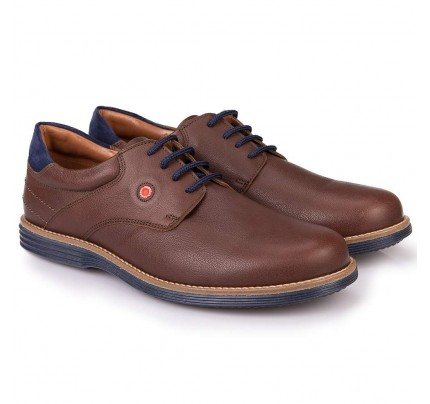 Men Leather Shoes Robinson 2092