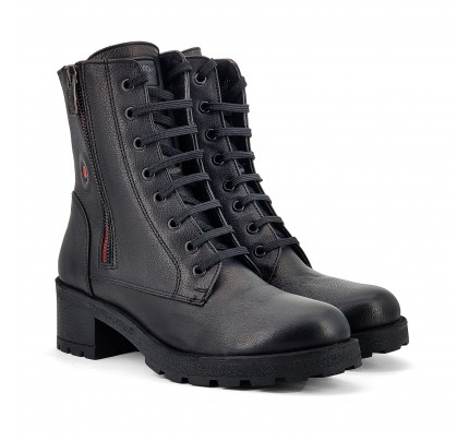 Women Leather Booties Robinson 3454