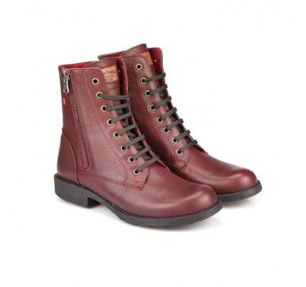 Women Leather Booties Robinson 3554