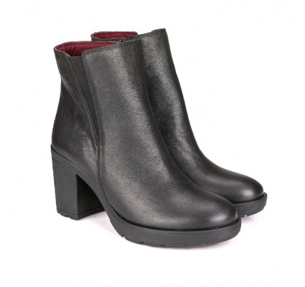 Women Leather Booties Robinson 3705