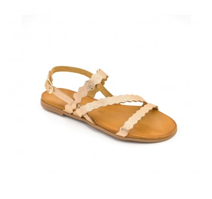 Women Leather Sandals Robinson 4002