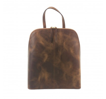 Leather Backpack Kouros 655