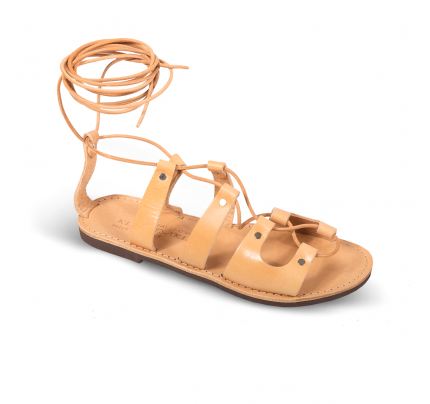 Women Leather Sandals Klimatsakis 685