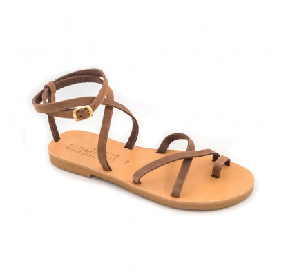 Women Leather Sandals Klimatsakis 743
