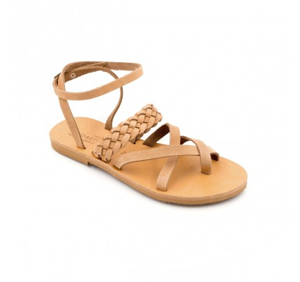 Women Leather Sandals Klimatsakis 749