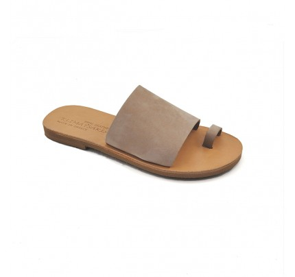 Women Leather Sandals Klimatsakis 750