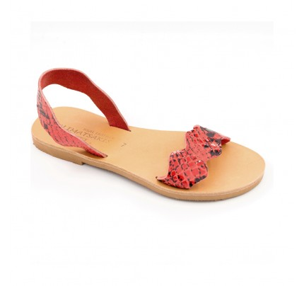 Women Leather Sandals Klimatsakis 753