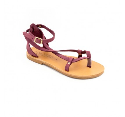 Women Leather Sandals Klimatsakis 754