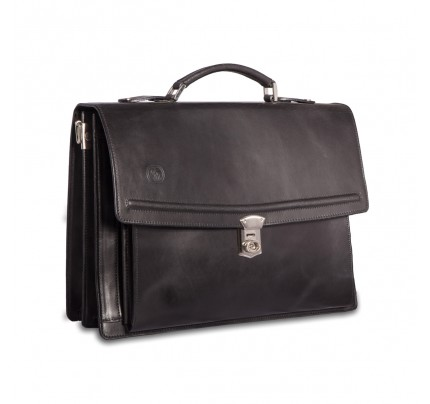 Leather Briefcase Gregory 910