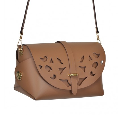 Leather Bag cod.99162 «My Passport - Cutout - Strip on Top»