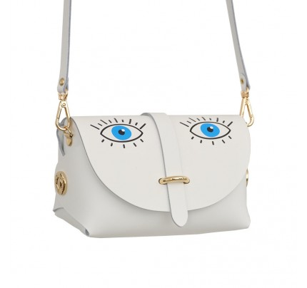 Leather Bag cod.99366 «My Passport - Strip on Top» My Blue Eyes