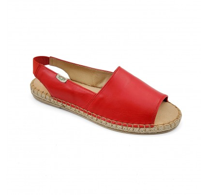Women Leather Espadrilles E2 Klimatsakis