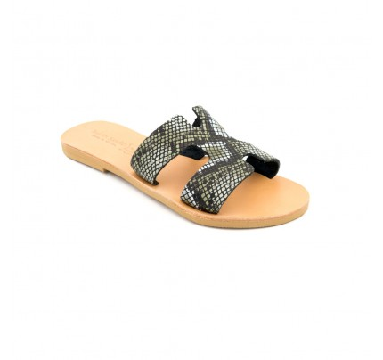 Women Leather Sandals Tsakiris Hermes